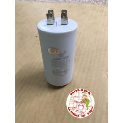 Condensador 60mf. 450v. régimen continuo.