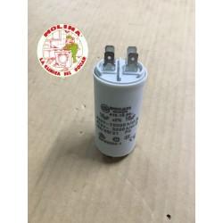 Condensador 16mf. 450v. régimen continuo.