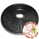 Filtro carbón activo campana Teka circular, diam. 19 cm.1 unidad