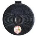Filtro carbón activo campana Teka,Smeg,  diam 19 cm., 1 unidad