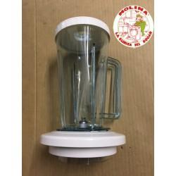 Jarra batidora de vaso Moulinex 320, plástico.